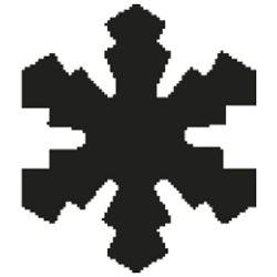 Bušač 1 rupa mala-pahulja Heyda 20-36874 28 blister