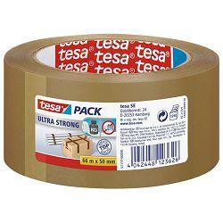Traka ljepljiva 50mm/66m PVC guma Ultra strong Tesa 57177-00000-11 smeđa