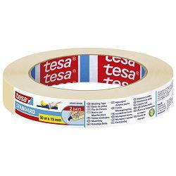 Traka ljepljiva krep 19mm/50m Standard eko Tesa 5085