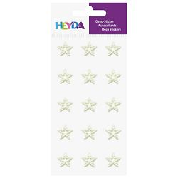 Naljepnice ukrasne Perle-velike zvijezda Heyda 20-37829 31 bijele blister