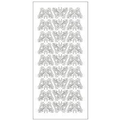 Naljepnice ukrasne papir Leptir Knorr Prandell 1526074 zlatne