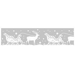 Traka Deco ljepljiva za staklo Sanjke Heyda 20-35844 83 prozirna