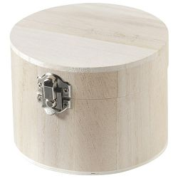 Kutija ukrasna drvena fi 11x8cm Knorr Prandell 8735418