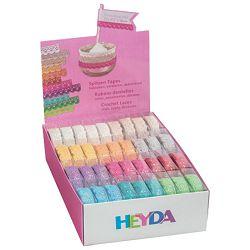 Traka Deco ljepljiva tekstil 15mmx2m Heyda 20-35843 92 sortirano blister