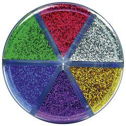 Prah ukrasni 10g x 6boja u čaši Lebez 80318
