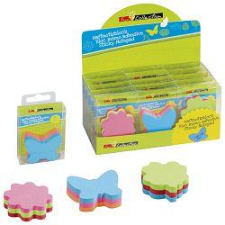 Blok samoljepljiv oblik Fun 150L Brunnen 10-55882 01 neon sortirano blister!!