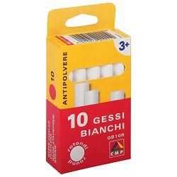 Kreda školska okrugla besprašna pk10 CMP.011GB10R bijela blister!!