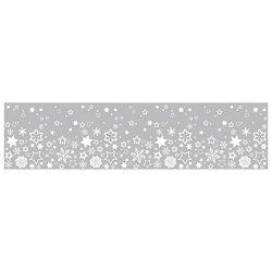 Traka Deco ljepljiva za staklo Zvijezde Heyda 20-35844 88 prozirna