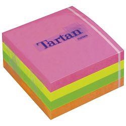 Blok samoljepljiv kocka 76x76mm 400L neon 3M.Tartan!!