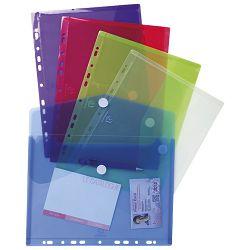 Kuverte s čičkom A4 pp uložne pk5 Exacompta prozirno sortirano