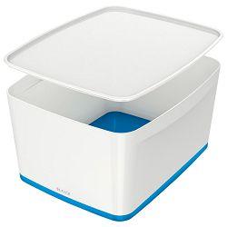 Kutija 318x385x198mm sa poklopcem pvc MyBox Leitz 521610-36 plavo/bijela