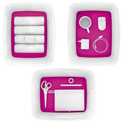 Kutija 318x385x198mm sa poklopcem pvc MyBox Leitz 521610-23 rozo/bijela