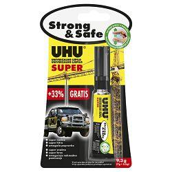 Ljepilo trenutačno 7g Super Strong&Safe+33% gratis UHU blister