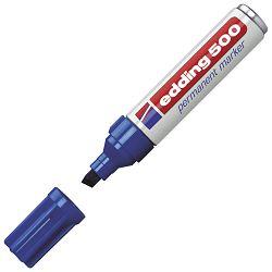 Marker permanentni 2-7mm Edding 500 plavi
