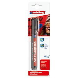 Marker permanentni 1-5mm klinasti vrh Edding 330/1 crni blister
