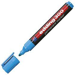 Marker permanentni 1,5-3mm okrugli vrh Edding 300 svijetlo plavi