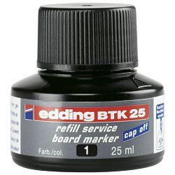 Tinta za marker (za bijelu ploču) 25ml Edding BTK25 crna