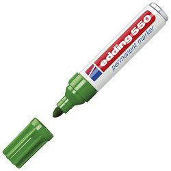 Marker permanentni 3-4mm Edding 550 zeleni