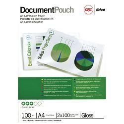 Folija za plastificiranje 100my A4 sjajna pk100 GBC 3740306