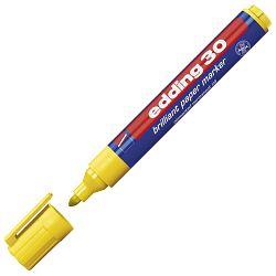 Marker briljant za papir 1,5-3mm Edding 30 žuti
