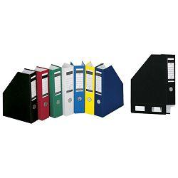 Stalak za spise okomit kartonski pp Donau 3949001PL-10 plavi