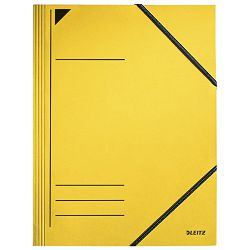 Fascikl klapa s gumicom karton A4 Leitz 39810015 žuti