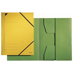 Fascikl klapa s gumicom karton A4 Leitz 39810055 zeleni!!