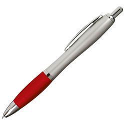Olovka kemijska grip 11681 (8916B) srebrna/ljubičasta
