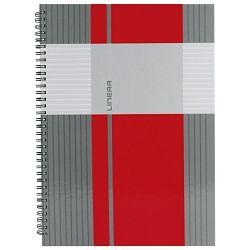 Blok kolegij A6 karo  80L mat+lak Linear Marker 2-66