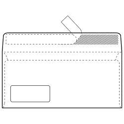 Kuverte ABT-PL strip 80g pk100 Fornax