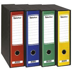Registrator A4 široki u crnoj kutiji FORoffice 402936 (14579) crveni