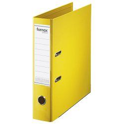 Registrator A4 široki samostojeći Premium Fornax 15705 žuti