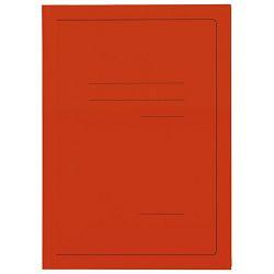 Fascikl klapa karton lak A4 215g Vip Fornax narančasti