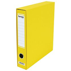 Registrator A4 uski u kutiji Office Fornax žuti