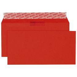 Kuverte u boji 11x23cm strip pk25 Elco crvene