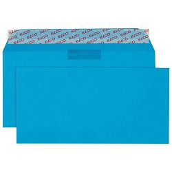 Kuverte u boji 11x23cm strip pk25 Elco plave
