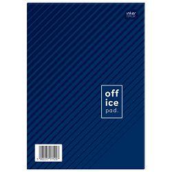Blok za bilješke A4 crte 100L s naslovnicom Interdruk
