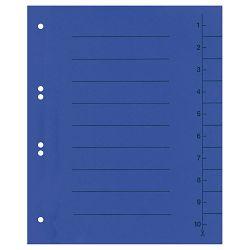 Pregrada kartonska A4 250g pk100 Fornax plava
