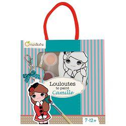 Privjesak za bojanje(djevojčice) u vrećici Avenue Mandarine Clairefontaine 42781O