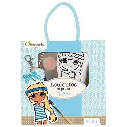 Privjesak za bojanje(djevojčice) u vrećici Avenue Mandarine Clairefontaine 42784O