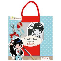 Privjesak za bojanje(djevojčice) u vrećici Avenue Mandarine Clairefontaine PP022O