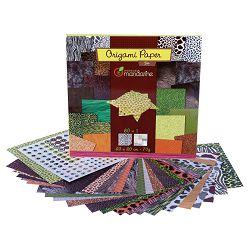 Papir Origami 20x20cm 70g pk60 Zoo Avenue Mandarine Clairefontaine 52504MD