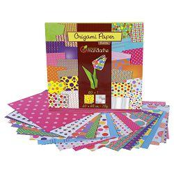 Papir Origami 20x20cm 70g pk60 Bubbles Avenue Mandarine Clairefontaine 52506MD!!