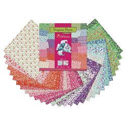 Papir Origami 20x20cm 70g pk60 Liberty Avenue Mandarine Clairefontaine 52509MD