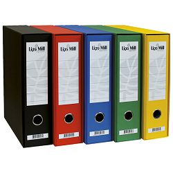 Registrator A4 široki u kutiji Lipa Mill 004087 crveni