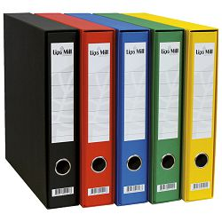 Registrator A4 uski u kutiji Lipa Mill 004149 crveni