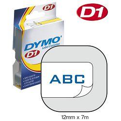 Vrpca D1 12mmx7m Dymo 45014 plavo-bijela