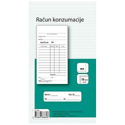 Obrazac L-15/NCR račun konzumacije Fokus