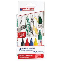 Marker za tekstil 2-3mm pk5 Edding 4500