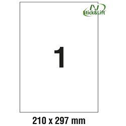 Etikete ILK 210x297mm odljepljive pk25L Zweckform L4735REV-25